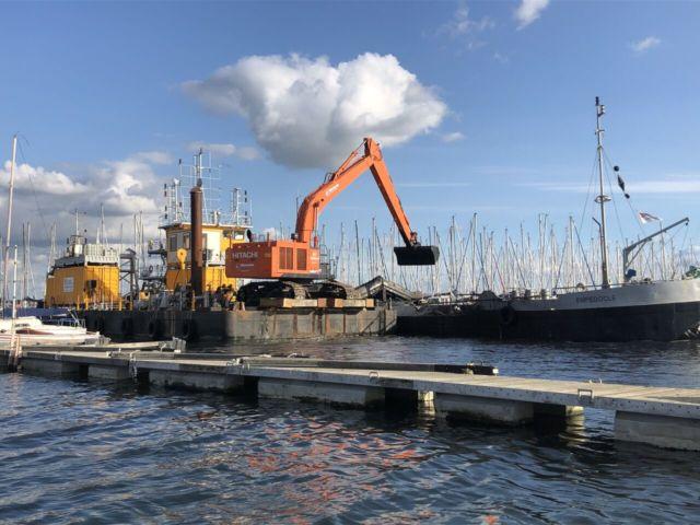 dragage du port de plaisance de Kernevel - Lorient3